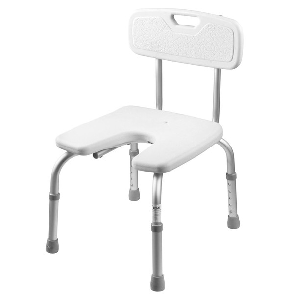 chair medical shower dp aid orthonica bathtub adjustable stool bench seat aluminium bath plastic