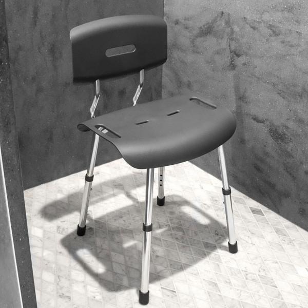 modern style bath chair