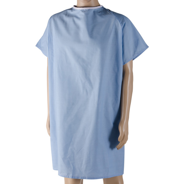 DMI® Patient Hospital Gown with Snaps
