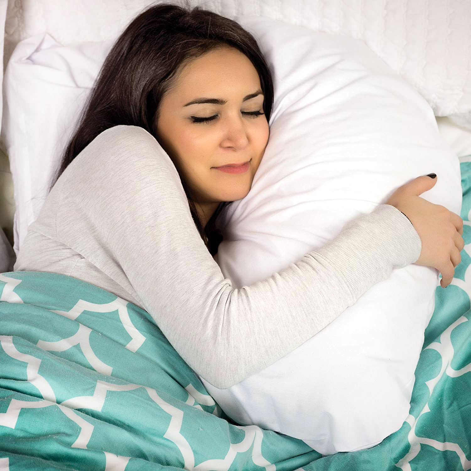 DMI HuggAPillow Hypoallergenic Bed Pillow