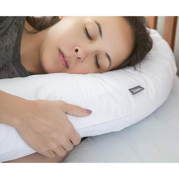 side sleeper pillow with ear hole