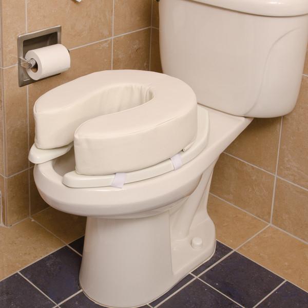 DMI Vinyl Cushion Toilet Seat